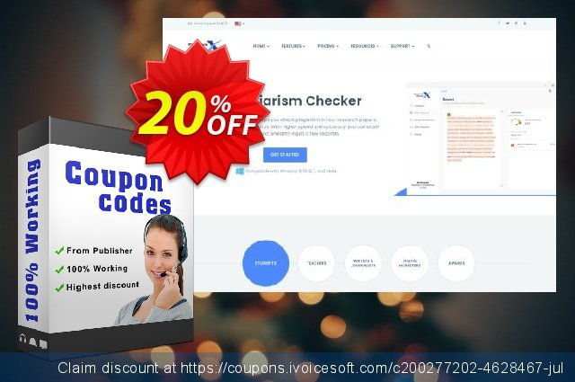 Plagiarism Checker X 2020 Business discount 20% OFF, 2021 Halloween offering sales. Plagiarism Checker X 2021 Business Imposing sales code 2021