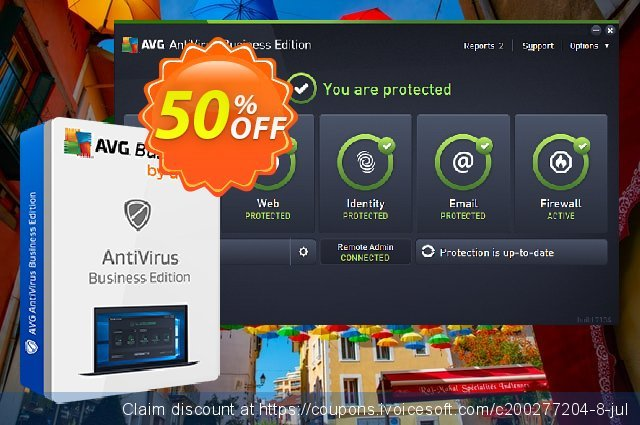 AVG Antivirus Business Edition discount 40% OFF, 2020 Summer promo sales