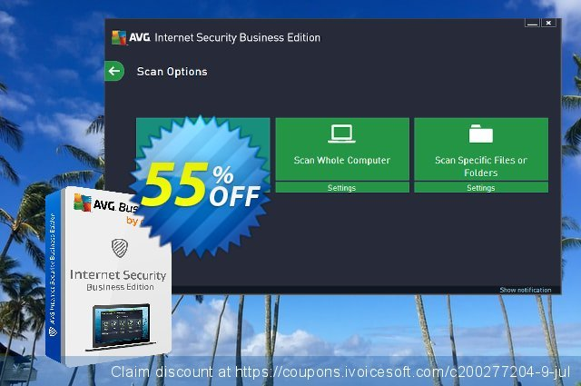 AVG Internet Security Business Edition 대단하다  세일  스크린 샷