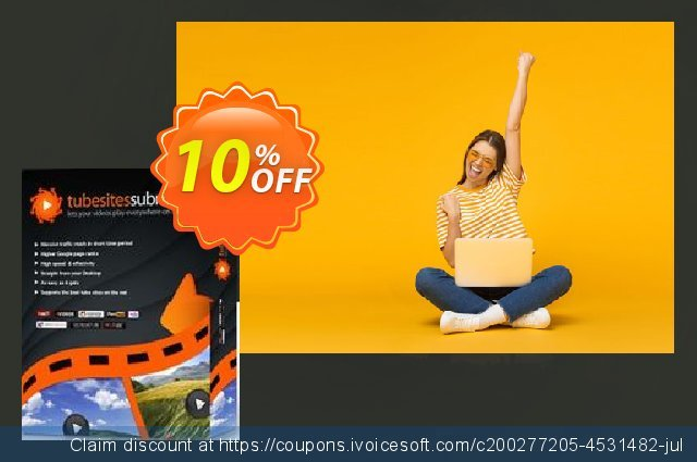 Tube Sites Submitter (3 months) discount 10% OFF, 2021 Resurrection Sunday deals