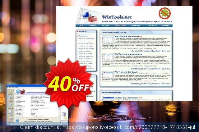 Advertising links discount 40% OFF, 2020 Back to School offer offering sales