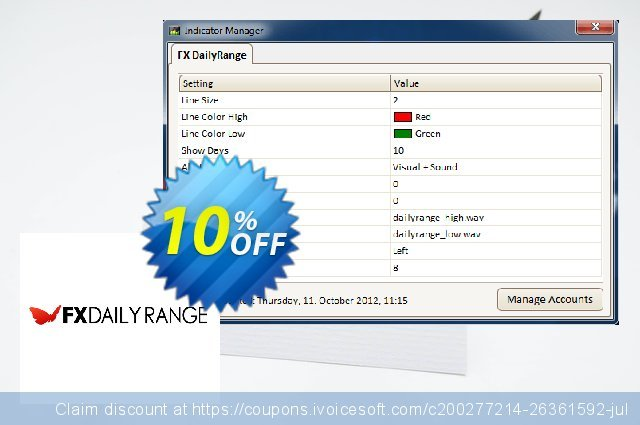 FX DailyRange - Yearly discount 10% OFF, 2020 Thanksgiving offering sales