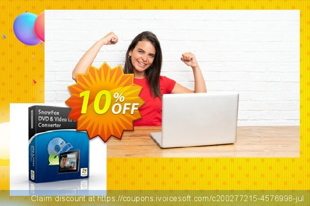 SnowFox iPad Video Converter Pro  특별한   촉진  스크린 샷