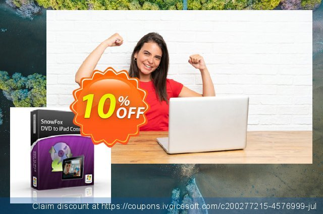 SnowFox DVD to iPad Converter discount 10% OFF, 2020 Back-to-School promotions offering sales