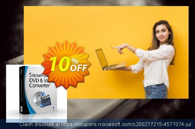 SnowFox Total Media Converter for Mac  굉장한   프로모션  스크린 샷