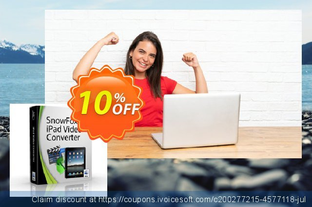 SnowFox iPad Video Converter for Mac  놀라운   제공  스크린 샷