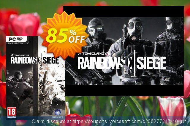 Tom Clancy's Rainbow Six Siege PC 惊人的 优惠券 软件截图