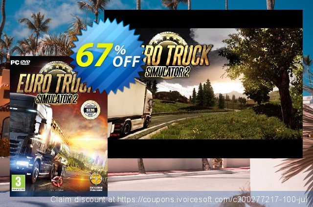 Euro Truck Simulator 2 PC discount 63% OFF, 2021 Mother Day offering deals. Euro Truck Simulator 2 PC Deal