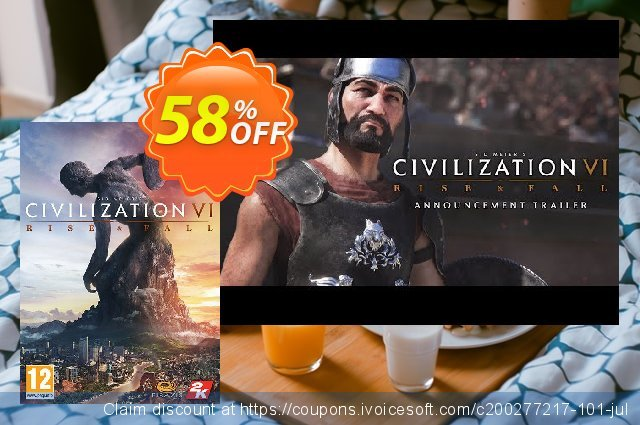 Sid Meier's Civilization VI 6 PC - Rise and Fall DLC (EU)  훌륭하   제공  스크린 샷