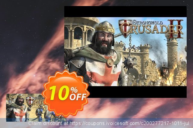 Stronghold Crusader 2 PC discount 10% OFF, 2020 Halloween offering sales