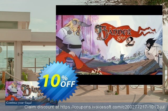 The Banner Saga 2 PC discount 10% OFF, 2020 Back to School Promos offering sales
