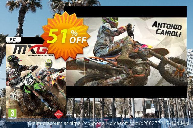 MXGP The Official Motocross Videogame PC discount 51% OFF, 2020 Halloween offering sales