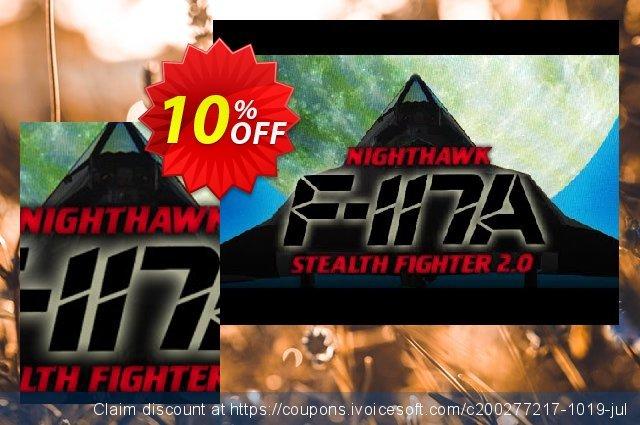 F117A Nighthawk Stealth Fighter 2.0 PC  훌륭하   제공  스크린 샷