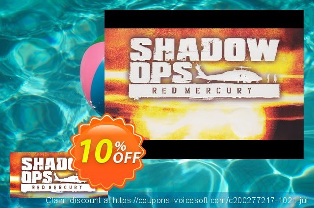 Shadow Ops Red Mercury PC discount 10% OFF, 2021 World Teachers' Day offer. Shadow Ops Red Mercury PC Deal