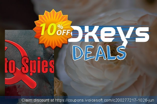 Death to Spies PC discount 10% OFF, 2020 Exclusive Teacher discount offering sales