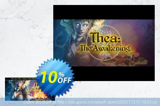 Thea The Awakening PC discount 10% OFF, 2020 Back to School Promos offering sales