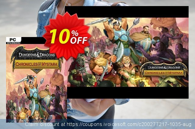 Dungeons & Dragons Chronicles of Mystara PC discount 10% OFF, 2020 Back to School promo offering sales