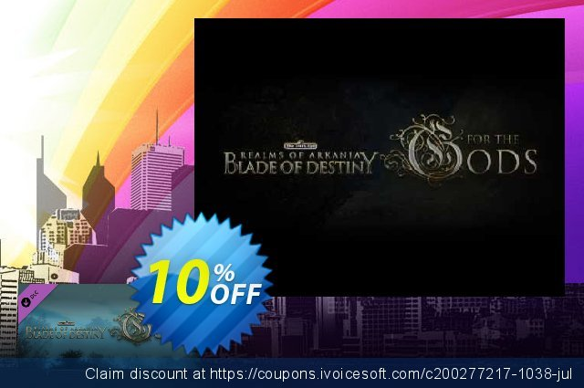 Realms of Arkania Blade of Destiny For the Gods DLC PC discount 10% OFF, 2020 Halloween sales