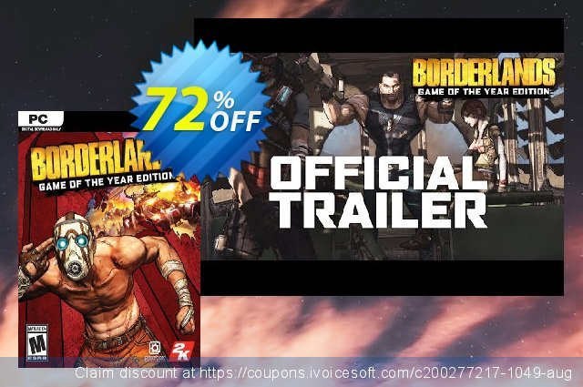 Borderlands Game of the Year Enhanced PC (EU)  훌륭하   할인  스크린 샷