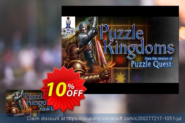 Puzzle Kingdoms PC discount 10% OFF, 2020 Halloween offering sales