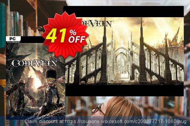 Code Vein PC discount 41% OFF, 2020 Back to School shopping offer