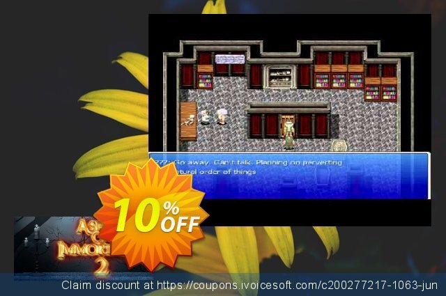 Ashes of Immortality II PC discount 10% OFF, 2020 Back to School season offering sales