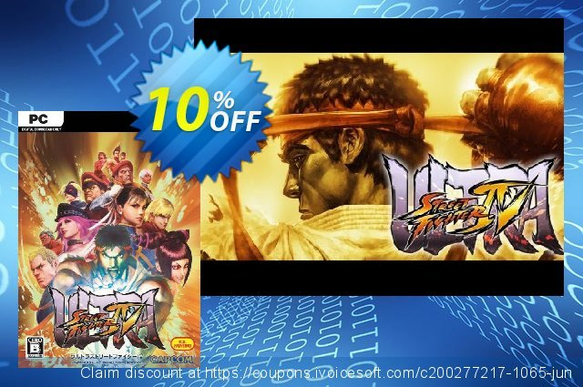 Ultra Street Fighter IV PC discount 10% OFF, 2020 Student deals promo sales