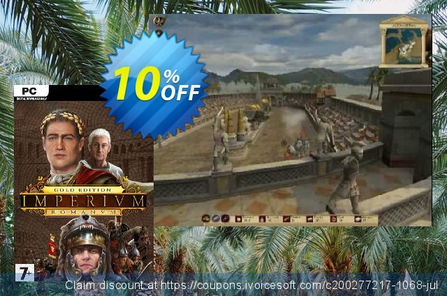 Imperium Romanum Gold Edition PC discount 10% OFF, 2020 University Student offer offering sales