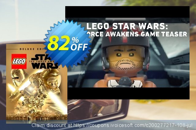 LEGO Star Wars The Force Awakens - Deluxe Edition PC  특별한   매상  스크린 샷