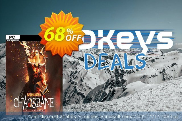 Warhammer Chaosbane Deluxe Edition PC discount 59% OFF, 2020 Back to School coupons offering deals