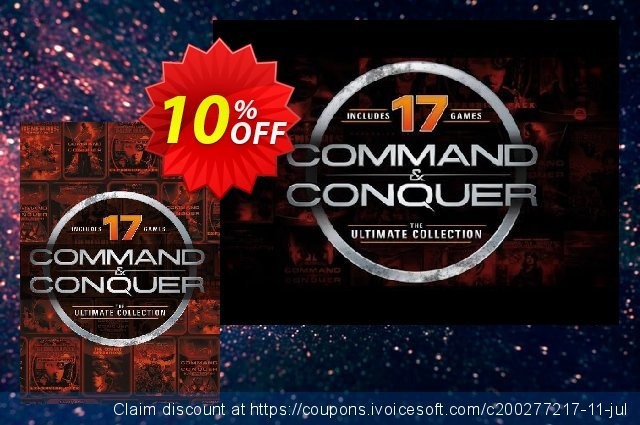 Command and Conquer: The Ultimate Edition PC 令人敬畏的 销售折让 软件截图