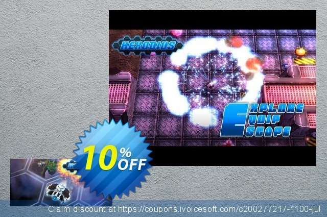 Hexodius PC discount 10% OFF, 2020 Back-to-School promotions offering discount