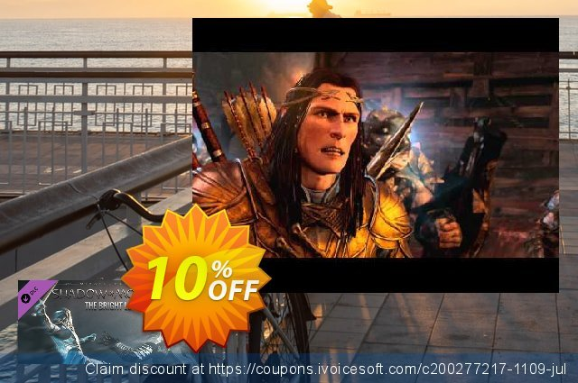 Middleearth Shadow of Mordor The Bright Lord PC discount 10% OFF, 2020 Halloween offering sales