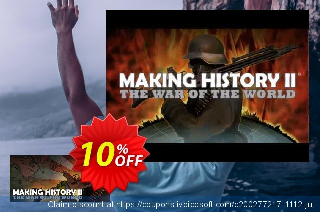Making History II The War of the World PC 可怕的 优惠券 软件截图