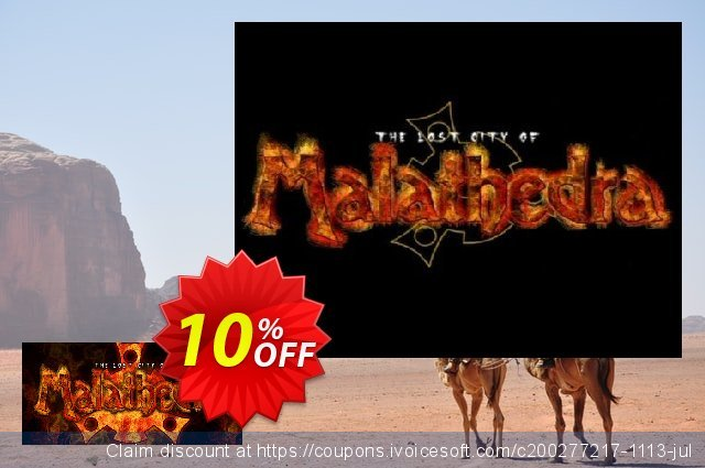 The Lost City Of Malathedra PC discount 10% OFF, 2020 College Student deals discounts