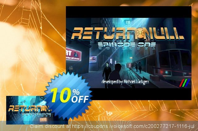 Return NULL Episode 1 PC discount 10% OFF, 2020 College Student deals sales