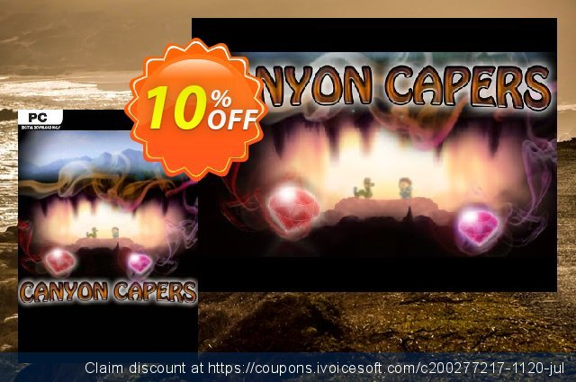 Canyon Capers PC discount 10% OFF, 2020 Halloween offering deals