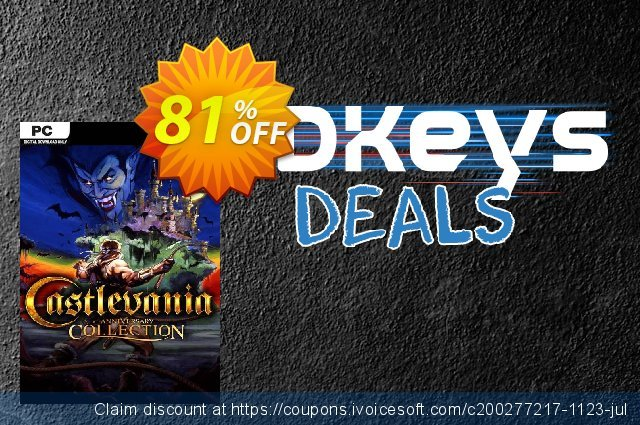 Castlevania Anniversary Collection PC discount 69% OFF, 2020 Back to School shopping promo
