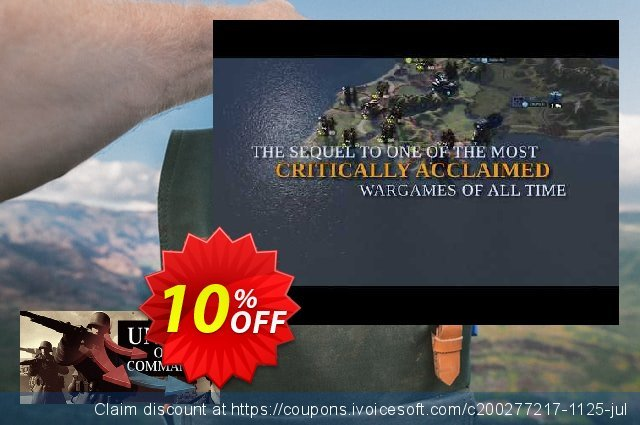 Unity of Command Stalingrad Campaign PC discount 10% OFF, 2020 Back to School coupons offering sales
