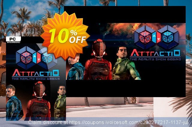 Attractio PC discount 10% OFF, 2020 College Student deals discount
