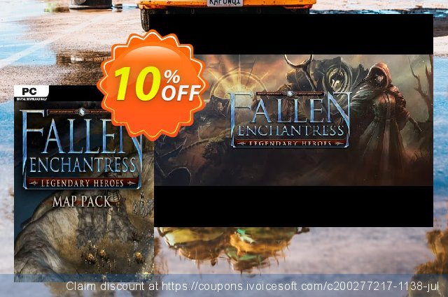 Fallen Enchantress Legendary Heroes Map Pack DLC PC 了不起的 销售折让 软件截图