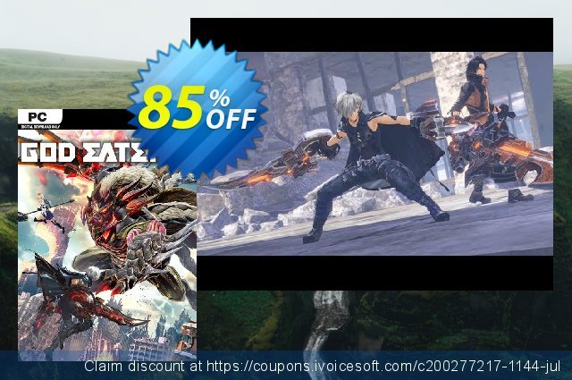 God Eater 3 PC discount 58% OFF, 2020 Back to School deals offering sales