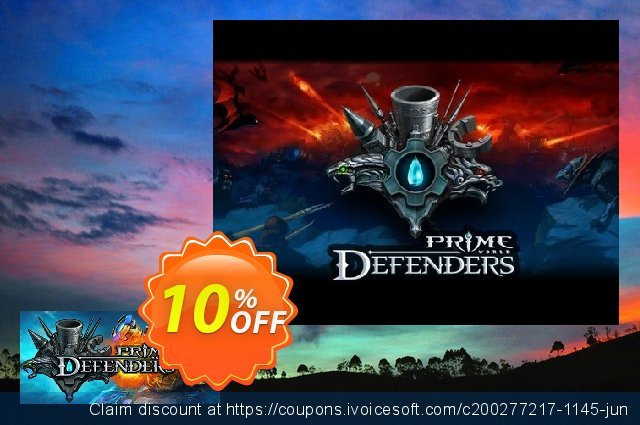 Prime World Defenders PC discount 10% OFF, 2020 Halloween offering sales