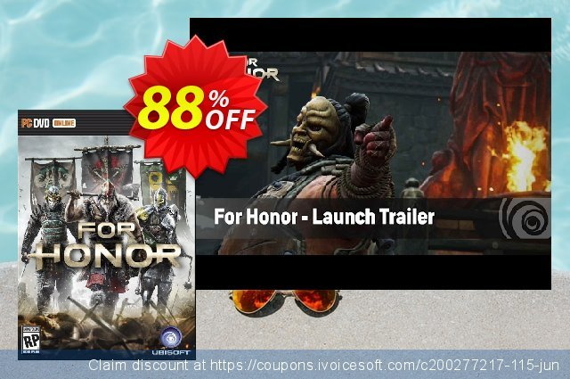 For Honor PC discount 84% OFF, 2021 Mother's Day offer. For Honor PC Deal