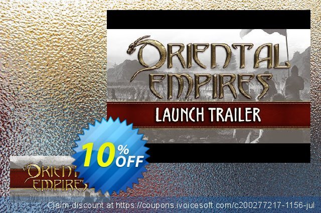 Oriental Empires PC discount 10% OFF, 2020 College Student deals discount