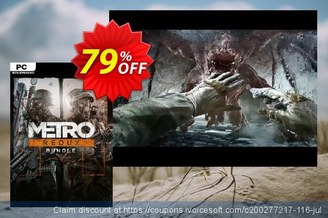 Metro Redux Bundle PC discount 77% OFF, 2021 Mother Day discount. Metro Redux Bundle PC Deal