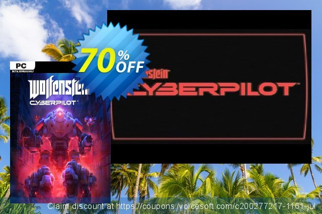 Wolfenstein: Cyberpilot VR PC discount 47% OFF, 2020 Back to School promo promo