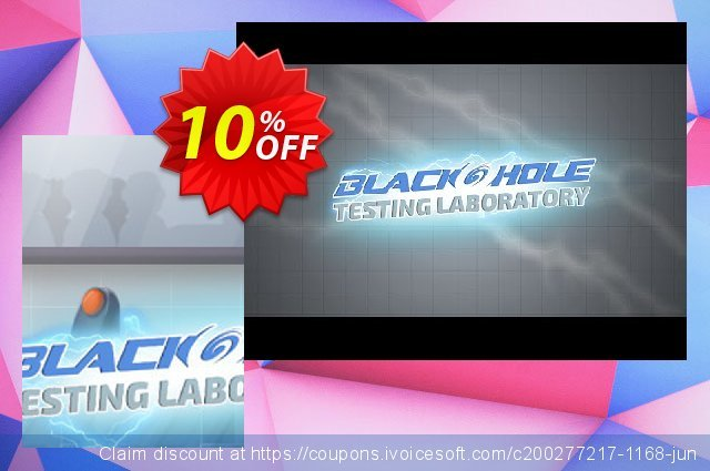 BLACKHOLE Testing Laboratory PC discount 10% OFF, 2020 Back to School season offering sales