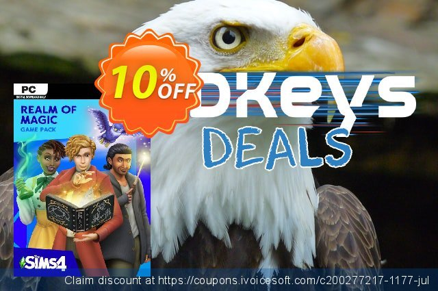 The Sims 4: Realm of Magic PC discount 14% OFF, 2020 Halloween offering deals