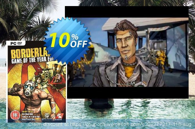 Borderlands: Game of the Year Edition PC (EU)  훌륭하   할인  스크린 샷